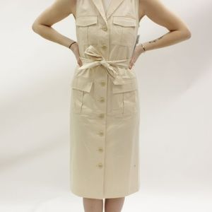 ANTONIO MELANI Samantha Dress in Nude